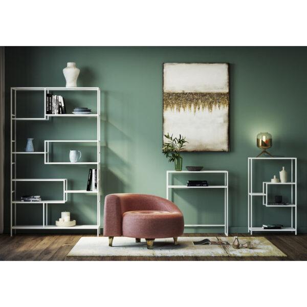 Kare Design Wandkast Loft White 115x195cm wandkast 85837 - Lowik Meubelen