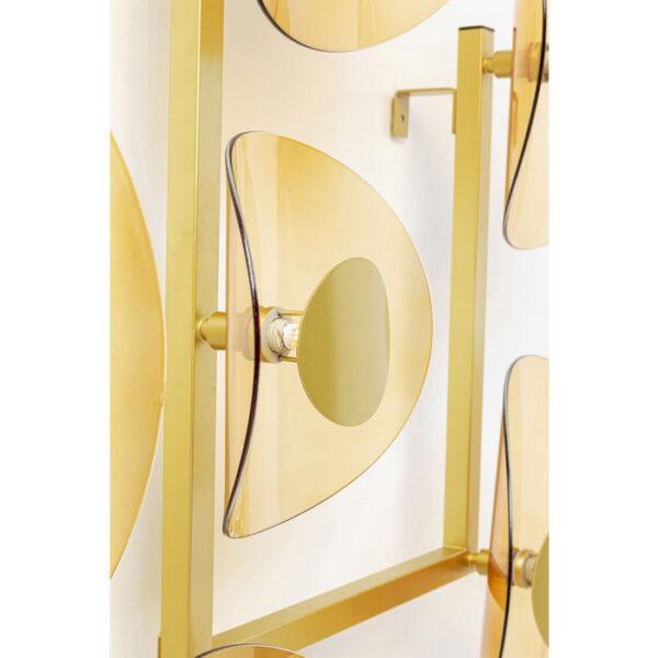Kare Design Wandlamp Mariposa Brass wandlamp 52932 - Lowik Meubelen