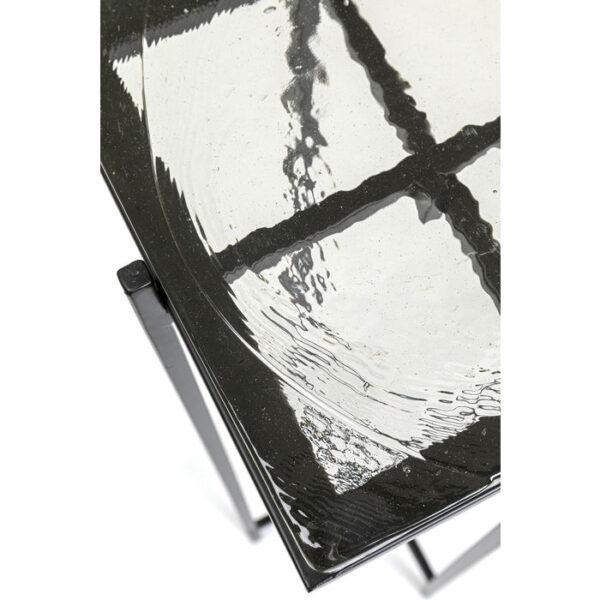 Kare Design Wandtafel Ice Black 98x80cm wandtafel 85547 - Lowik Meubelen