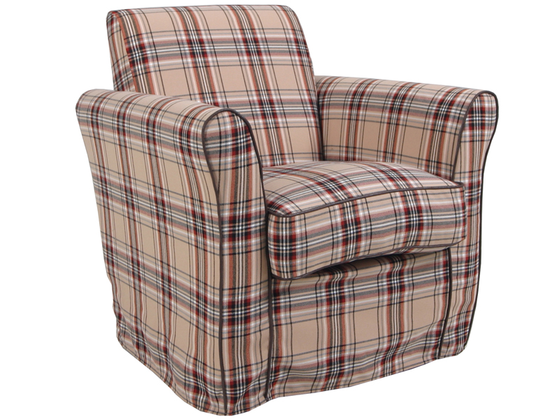 RORY FAUTEUIL SCARLET