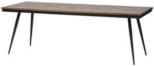Rhombic Eettafel 220x90cm Hout/metaal uit de Tafels collectie van BePureHome bij Löwik Meubelen