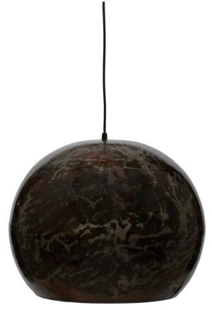 Grand Ball Hanglamp Metaal - Black Blast Ø44cm uit de Lampen collectie van BePureHome bij Löwik Meubelen
