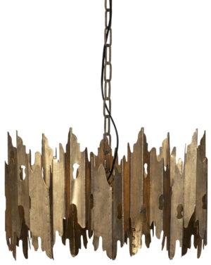 Crown Hanglamp Metaal - Antique Brass uit de Lampen collectie van BePureHome bij Löwik Meubelen