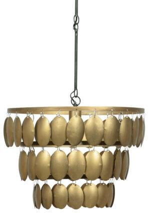Moondust Hanglamp Metaal - Antique Brass uit de Lampen collectie van BePureHome bij Löwik Meubelen