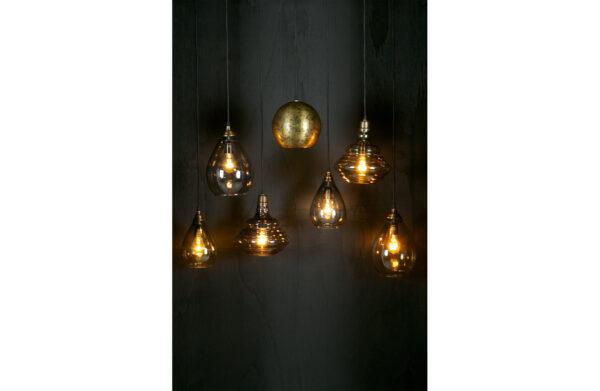 Pure Vintage - Hanglamp Glas Grijs uit de Lampen collectie van BePureHome bij Löwik Meubelen