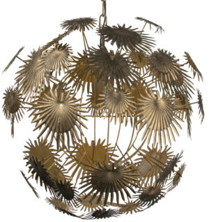 Atom Hanglamp Metaal - Antique Brass uit de Lampen collectie van BePureHome bij Löwik Meubelen