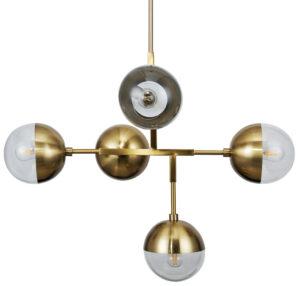 Globular Hanglamp Metaal - Antique Brass uit de Lampen collectie van BePureHome bij Löwik Meubelen
