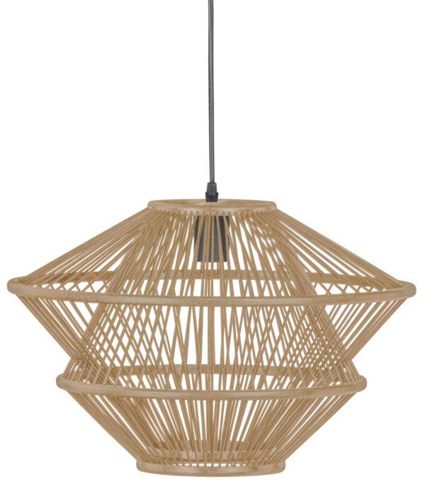 Bamboo Hanglamp Naturel uit de Lampen collectie van BePureHome bij Löwik Meubelen