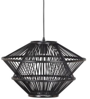Bamboo Hanglamp Zwart uit de Lampen collectie van BePureHome bij Löwik Meubelen