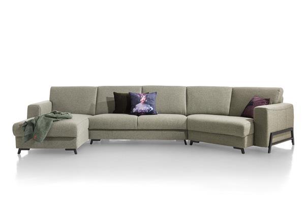 Henders & Hazel Bergen lounge-end rechts  Bank