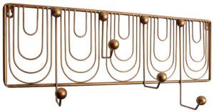 Ornamental Kapstok Metaal - Antique Brass uit de Accessoires collectie van BePureHome bij Löwik Meubelen
