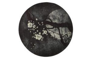 Night Blossom Vloerkleed Antraciet Ø150cm uit de BePureHome collectie