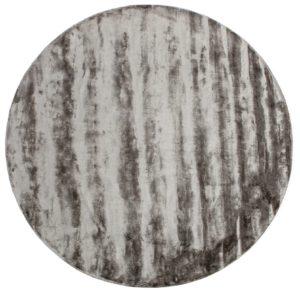 Ravel Vloerkleed Antraciet Ø250 uit de BePureHome collectie