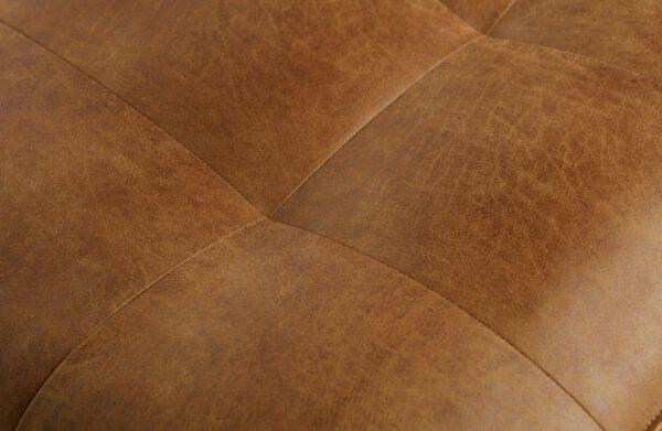 Rodeo Classic Bank 2,5-zits Cognac uit de BePureHome collectie