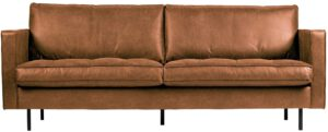 Rodeo Classic Bank 2,5-zits Cognac uit de BePureHome collectie