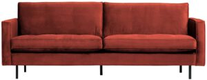 Rodeo Classic Bank 2,5-zits Velvet Chestnut uit de BePureHome collectie