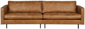 Rodeo Classic Bank 3-zits Cognac uit de BePureHome collectie
