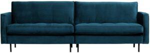 Rodeo Classic Bank 3-zits Velvet Blue uit de BePureHome collectie