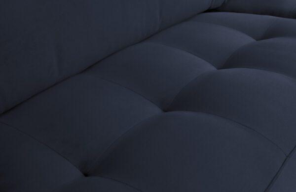 Rodeo Classic Bank 3-zits Velvet Dark Blue Nightshade uit de BePureHome collectie
