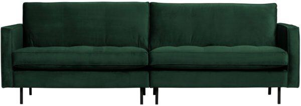 Rodeo Classic Bank 3-zits Velvet Green Forest uit de BePureHome collectie
