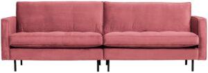 Rodeo Classic Bank 3-zits Velvet Pink uit de BePureHome collectie