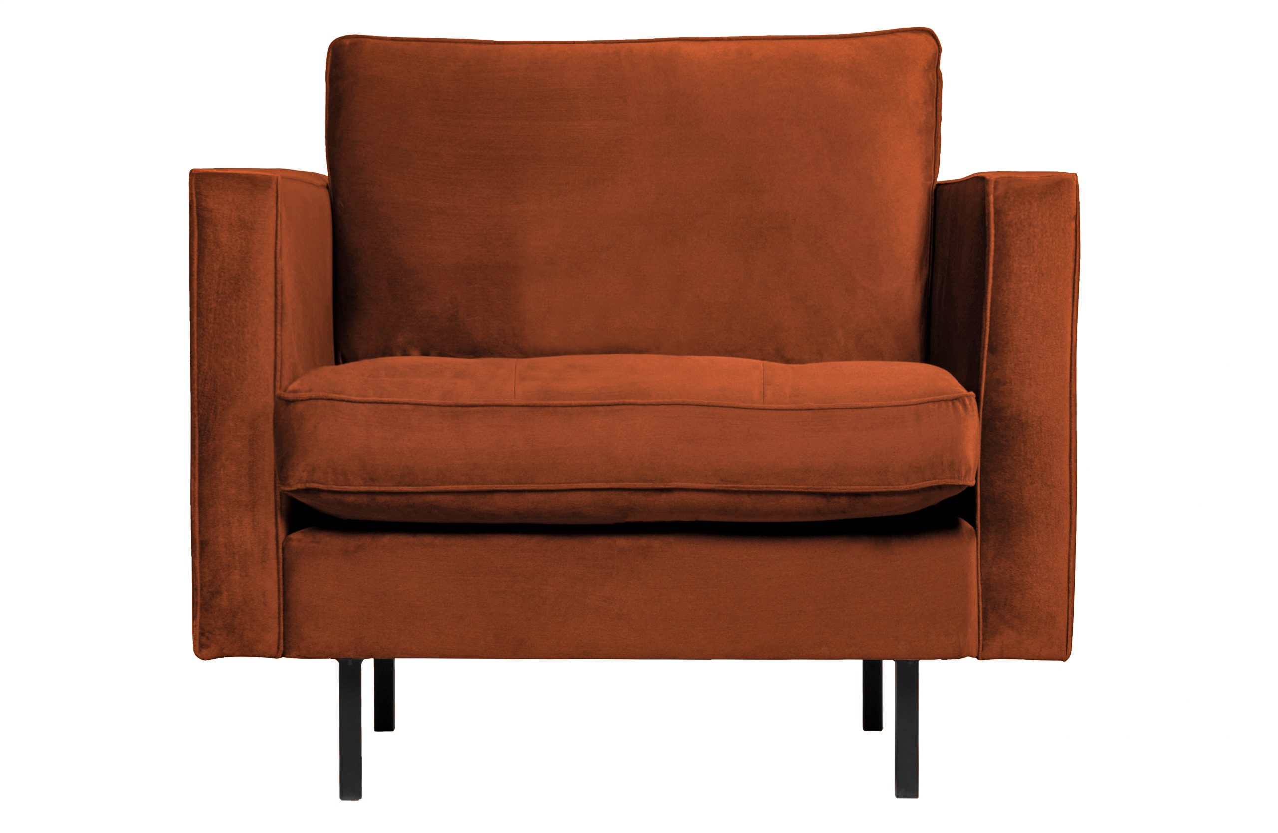 Rodeo Classic Fauteuil Velvet - Roest