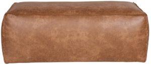 Rodeo Poef 43x120x60 Cognac uit de BePureHome collectie