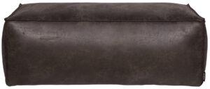 Rodeo Poef 43x120x60 Zwart uit de BePureHome collectie