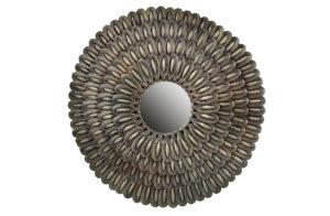 Husk Spiegel Metaal - Antique Brass uit de Accessoires collectie van BePureHome bij Löwik Meubelen