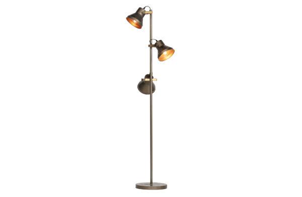Triplet Staande Lamp Metaal - Antique Brass uit de Lampen collectie van BePureHome bij Löwik Meubelen