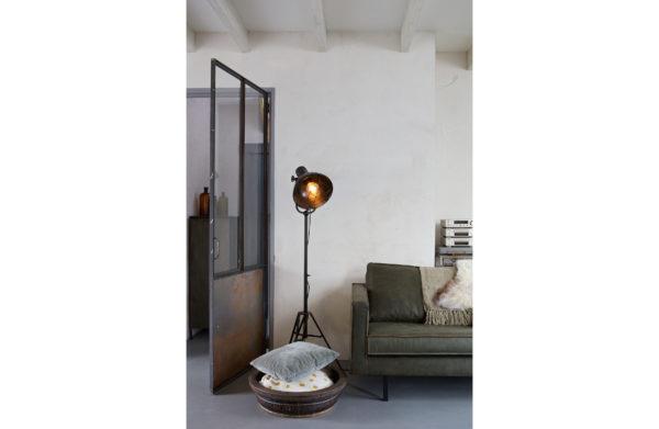 Spotlight Staande Lamp Zwart uit de Lampen collectie van BePureHome bij Löwik Meubelen