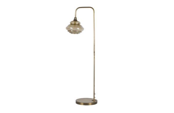 Obvious Staande Lamp Antique Brass uit de Lampen collectie van BePureHome bij Löwik Meubelen