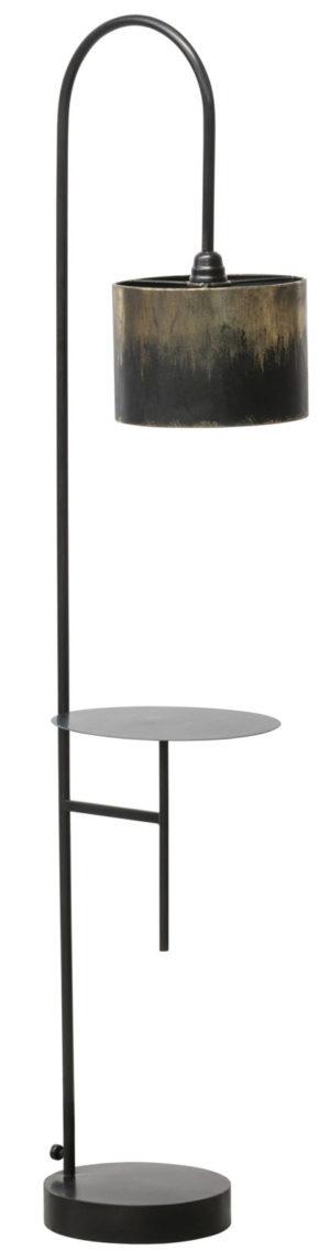 Blackout Staande Lamp Metaal - Zwart uit de Lampen collectie van BePureHome bij Löwik Meubelen