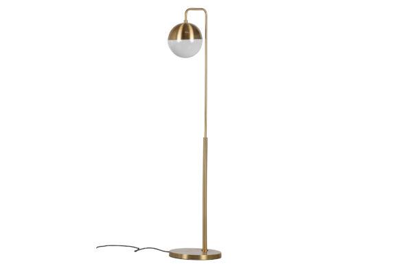 Globular Staande Lamp Metaal - Antique Brass uit de Lampen collectie van BePureHome bij Löwik Meubelen