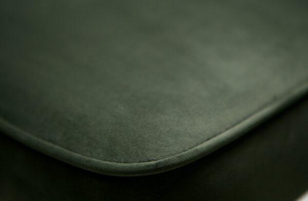 Vogue Barstoel 80cm Fluweel Onyx uit de BePureHome collectie