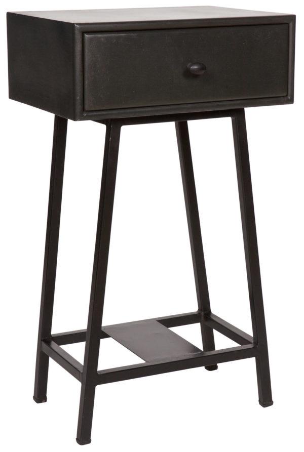 Skybox Sidetable Zwart uit de Tafels collectie van BePureHome bij Löwik Meubelen