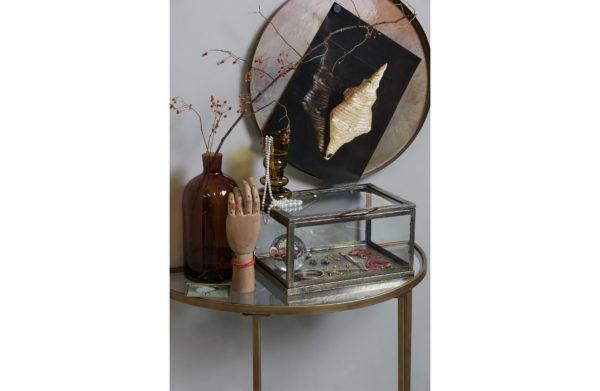 Goddess Sidetable Antique Brass uit de Tafels collectie van BePureHome bij Löwik Meubelen