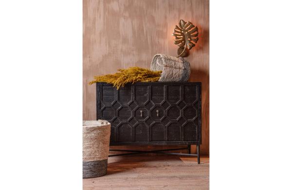 Set/3 - Indian Corn Baskets Naturel/grijs uit de Accessoires collectie van BePureHome bij Löwik Meubelen