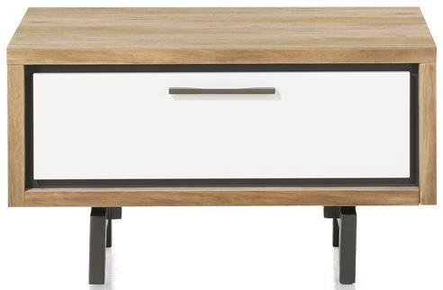 Xooon Otta lowboard 80 cm. / onderkast voor boekenkast 80 cm. - 1-lade  Dressoir