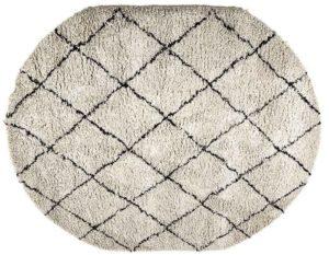 Carpet Rox - oval By-Boo Woonaccessoire 210101