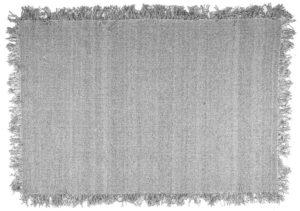 Carpet Woolie 160x230 cm - light grey By-Boo Woonaccessoire 210054