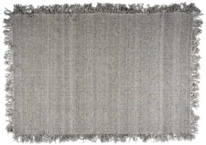 Carpet Woolie 160x230 cm - taupe By-Boo Woonaccessoire 210055