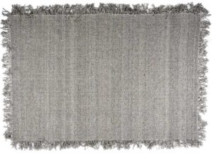 Carpet Woolie 200x290 cm - taupe By-Boo Woonaccessoire 210058