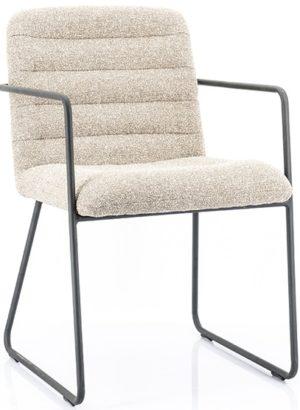 Chair Artego - beige By-Boo Woonaccessoire 210031