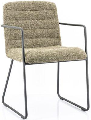 Chair Artego - green By-Boo Woonaccessoire 210032