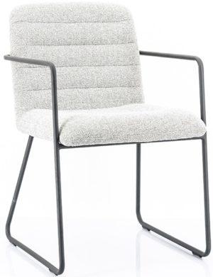 Chair Artego - light grey By-Boo Woonaccessoire 210030