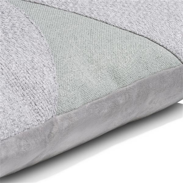 COCO maison Aria kussen 45x45cm - grijs  Sierkussen