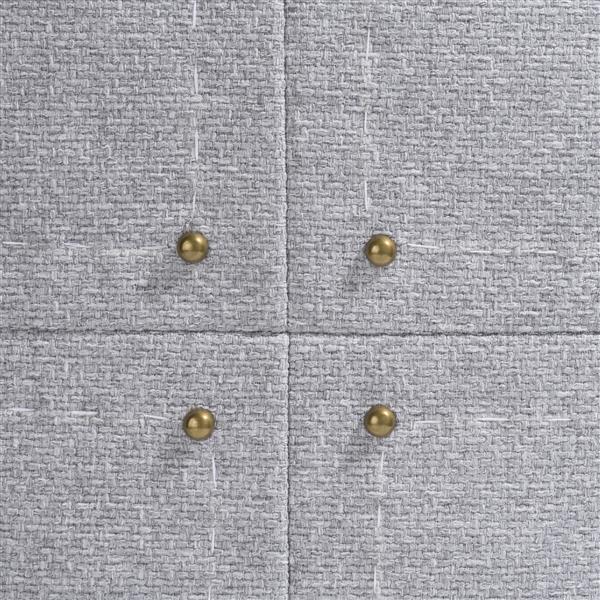 COCO maison Avery kussen 50x50cm - grijs  Sierkussen