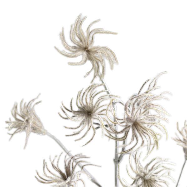 COCO maison Clematis seed spray H105cm  Kunstbloem