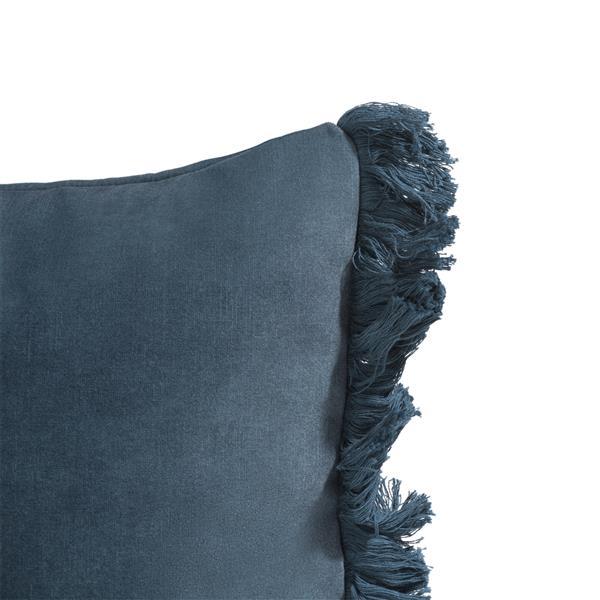 COCO maison Mila kussen 30x50cm - blauw  Sierkussen